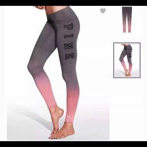 Victoria's Secret PINK Ombré Leggings L